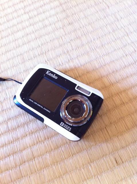 海に落として、奇跡的に発見されたカメラ