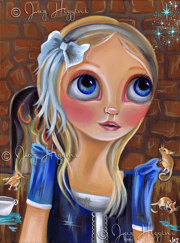 """Cinderella - Something Magical Awaits"" Painting by Jaz Higgins"