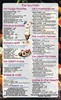 Ice Cream Creations Menu