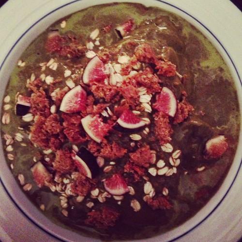 chocolate-beet protein shake