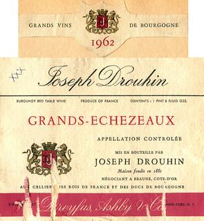 France - Grands-Échezeaux 1962
