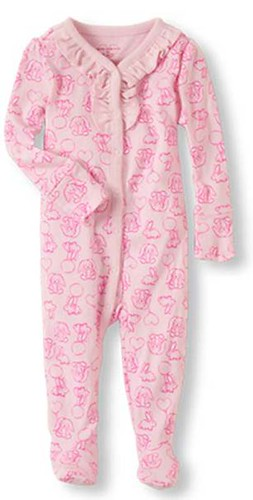 The Children's Place Footed Pajamas Recalled