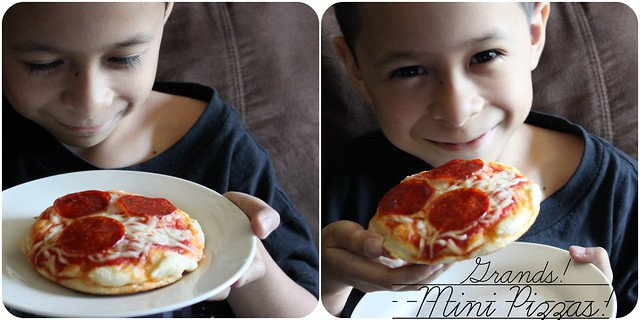 Pillsbury Grands! Mini Pizzas!