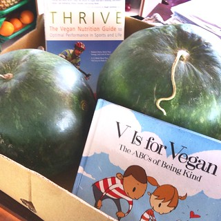 9830697795 ff3fef8e63 n New Books! New Books! V Is for Vegan and Thrive