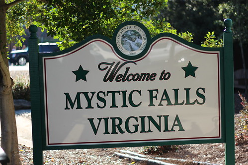 Welcome to Mystic Falls, Virginia also known as Covington, Georgia