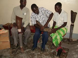 West Nile - sostegno alle disabilità