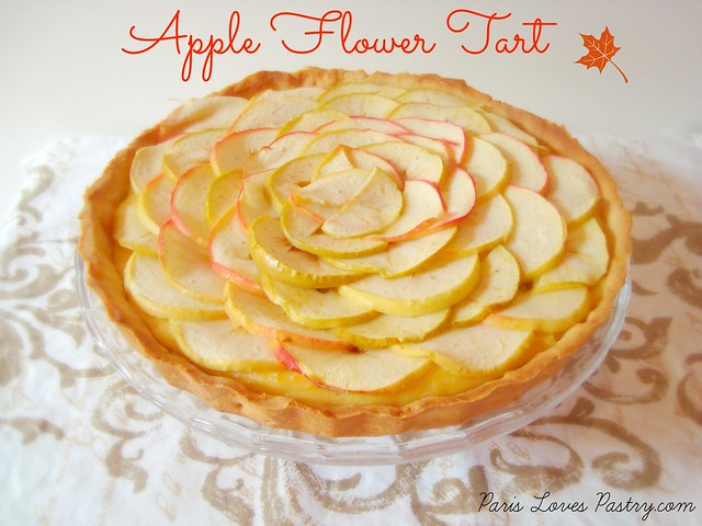 Apple Flower Tart