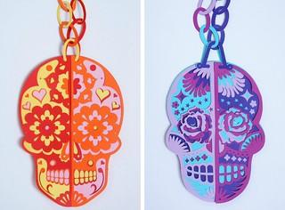 sugar-skull-collage