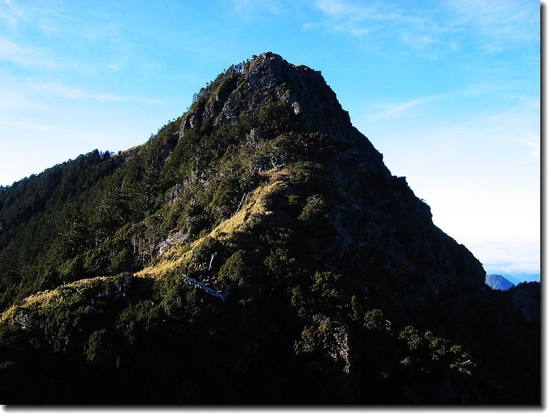關山主峰(From 3500高地)