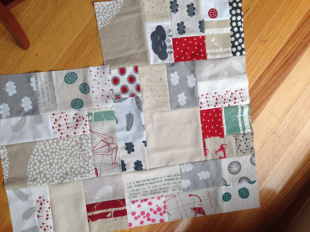 freeform patchwork : workshop at The Craft Sessions
