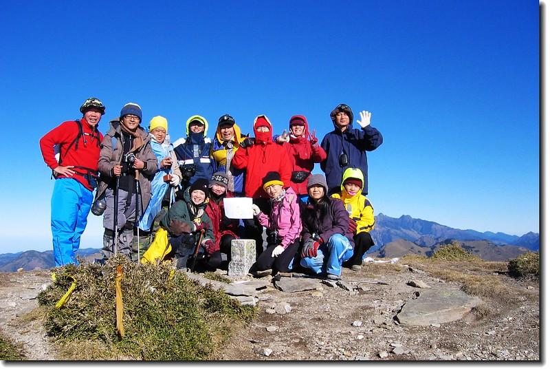 三叉山山頂 2