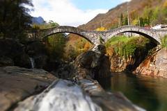 Doppelbrücke Ponte dei Salti