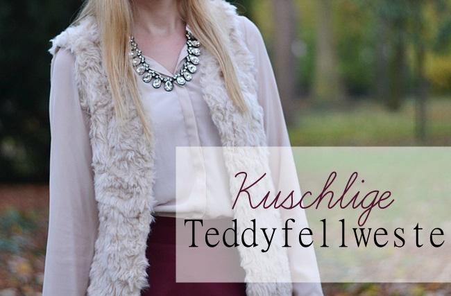 Outfit kuschlige Teddyfellweste (1) Banner