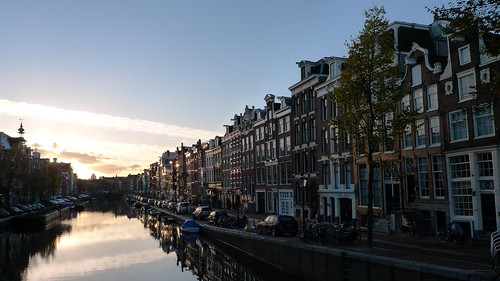 Prinsengracht one fall morning 1