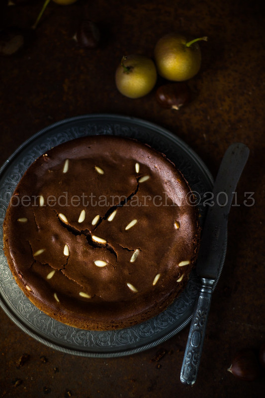 ricetta torta antica pere volpine castagne ricotta