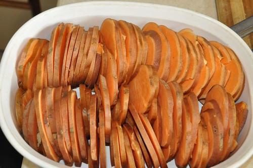 sweet potato gratin 5