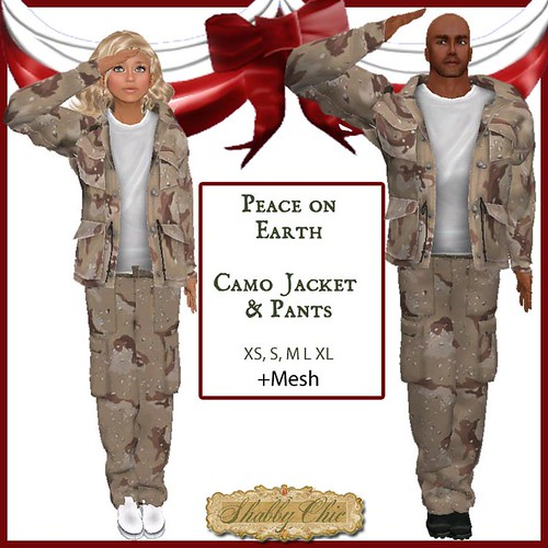 Shabby Chic Peace on Earth 2013 by Shabby Chics