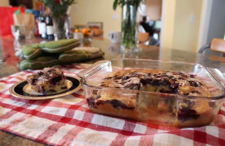 Blueberry cake 9