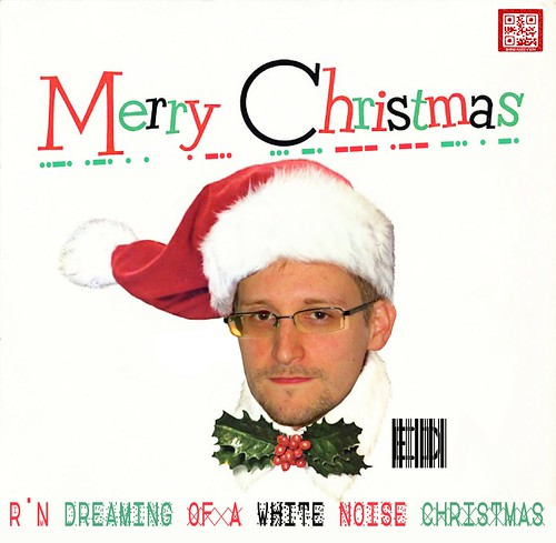ED SNOWDEN CHRISTMAS ALBUM by WilliamBanzai7/Colonel Flick