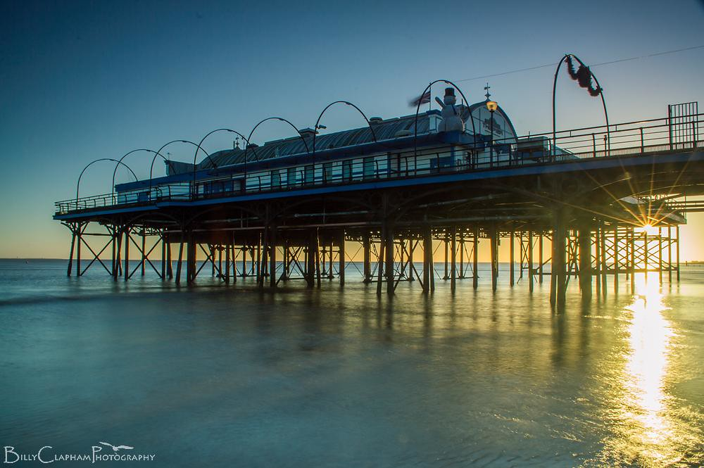 cleethorpes pier landscape sunrise billy clapham photography