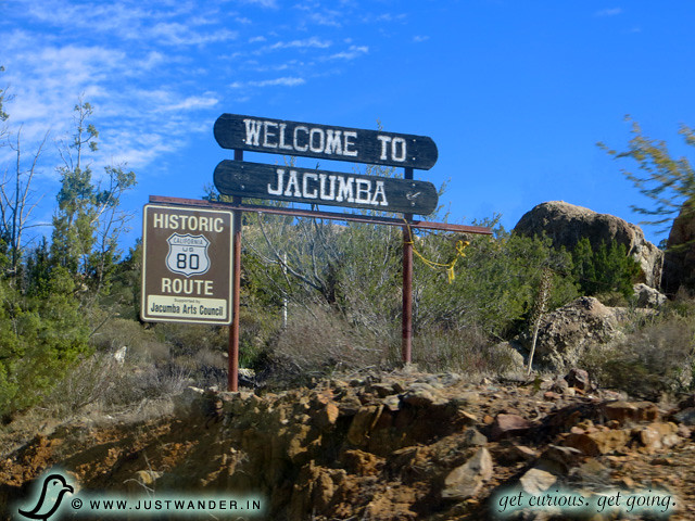 PIC: Welcome to Jacumba sign
