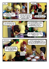 2013 Christmas Party comic strip (2/8)