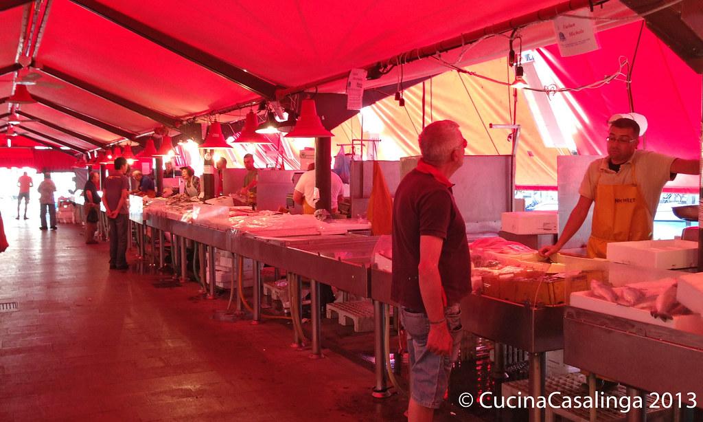 Chioggia Fischmarkt innen
