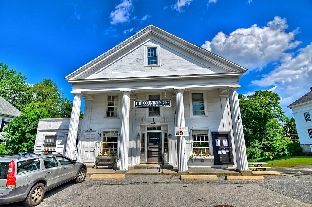 Hutchinson Country Store - Petersham Common Historic District - Petersham MA