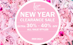 Front Row Shop / New Year clearance sale