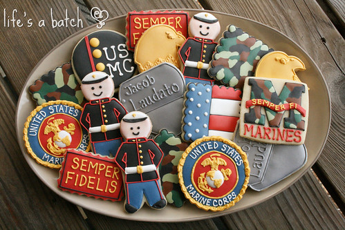 Marines Cookie Assortment.