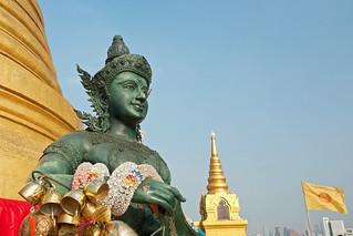 Image of Golden Mount near Bangkok. thailand asia southeastasia december bangkok goldenmount 泰国 watsaket krungthepmahanakhon ราชอาณาจักรไทย ประเทศไทย 2013 canonefs1755mmf28isusm กรุงเทพมหานคร canon450d