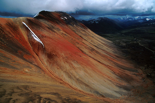 Spectrum Range, Mount Edziza Provincial Park, Coast Mountains, Northwest British Columbia