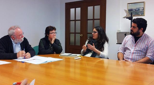 Visita de Marina Segura a CANLA - 15 enero 2014