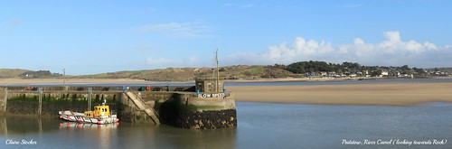 Padstow, River Camel (Looking towards Rock) by www.stockerimages.blogspot.co.uk