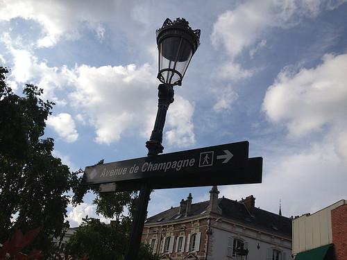 シャンパーニュ街道