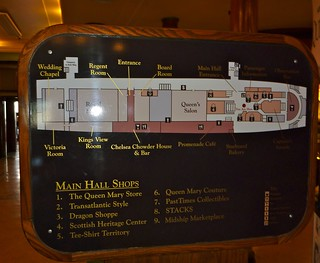 The Queen Mary Current Layout - Photo By Keith Valcourt