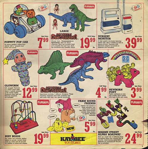 KAY•BEE TOY STORES :: Christmas in October pg.7  (( OCTOBER,8 1989 ))
