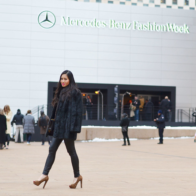 NYFW MBFW February Fall/Winter 2014 street style