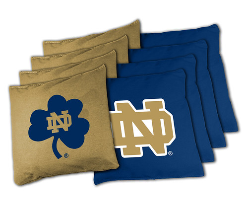 Notre Dame Fighting Irish Cornhole Bags