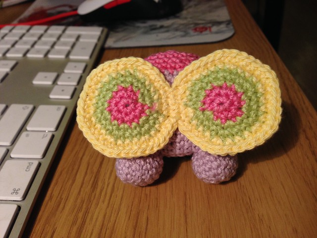 Garden pal butterfly