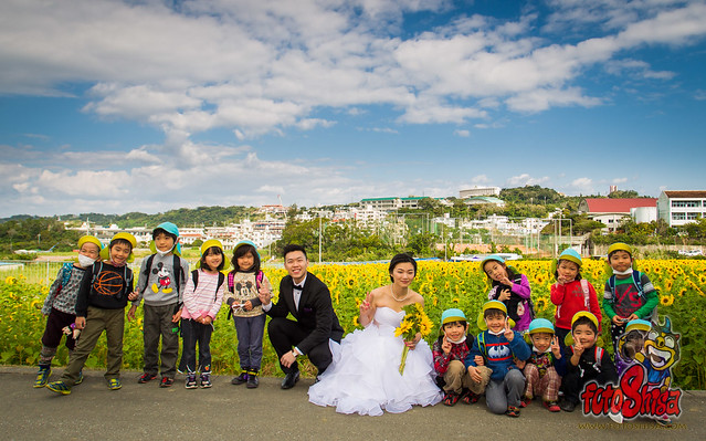 Okinawa Pre-Wedding location for KM & Annika