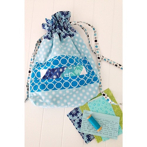 Totally adorable car junk bag for #handmadebirthdayclub2014 from @sew_into_my_20s !!!  So cute!  Prob too cute for car trash!  #makingbirthdayshappen