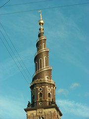 The corkscrew spire