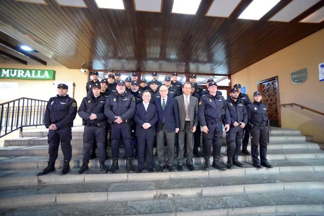 Visita del ministro del interior jorge fern ndez d az a for Escuchas del ministro del interior