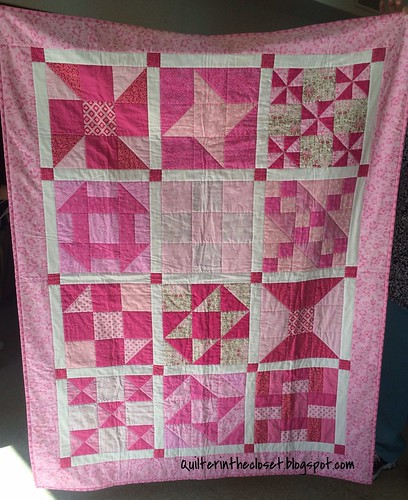 Beginner Quilt Along - finally finished