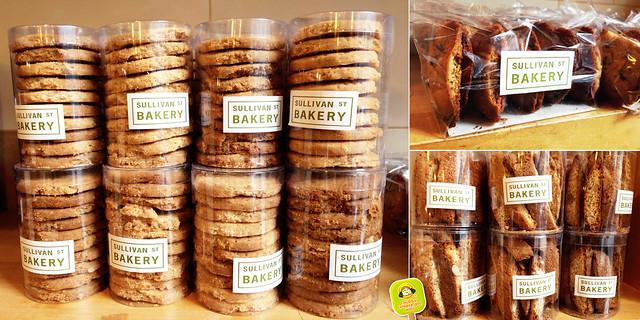 Sullivan St. Bakery - biscotti and cookies