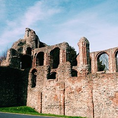 St Botolph's Priory. Another casualty of Henry VIII's libido.