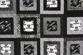 Oakland Raiders Quilt