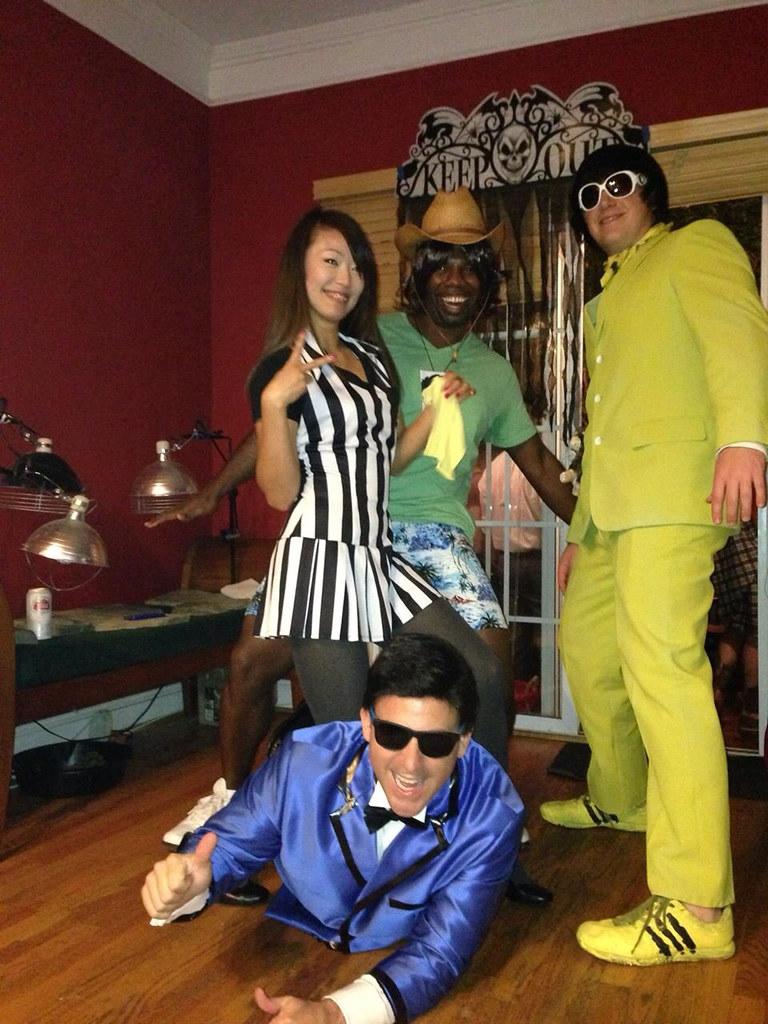 A Gangnum Style Halloween