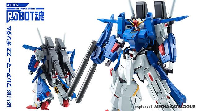 ROBOT Damashii <Side MS> Full Armor ZZ Gundam